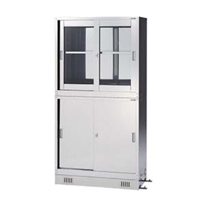AS ONE 亚速旺 HS-945S 不锈钢药品保存库 (SUS430制)ステンレス薬品保管庫 CABINET SUS 1-6169-01
